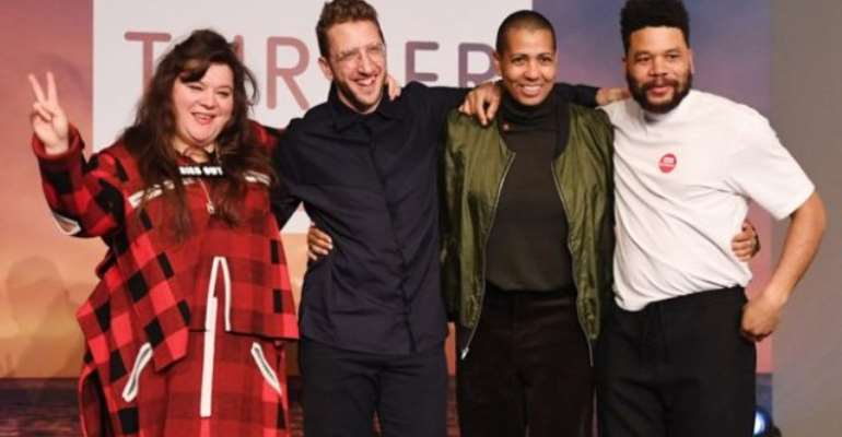 Four share Turner Prize after plea from nominees