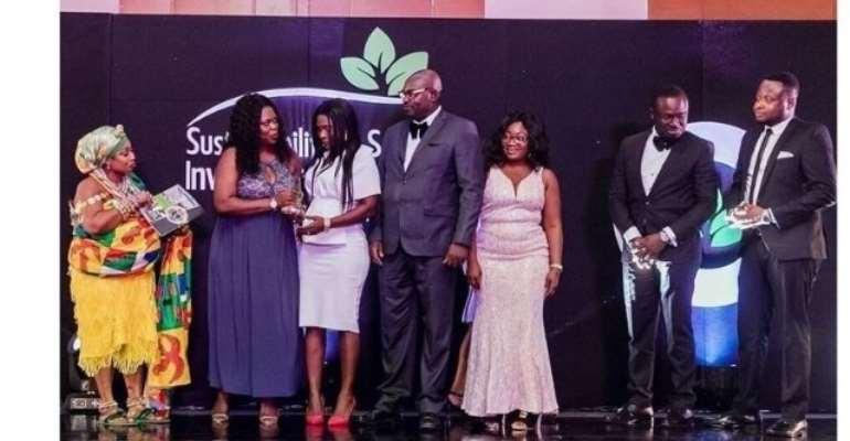 SMT Ghana wins top award for promoting SDGs