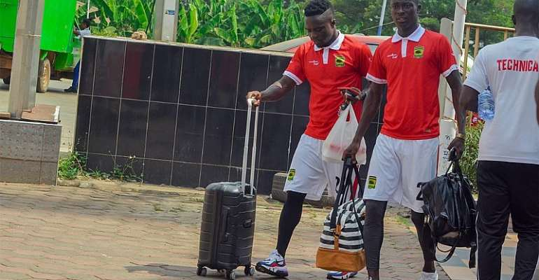 Kotoko Moves Camp To Cape Coast Ahead Of Friendlies Against Dwarfs And Skyy FC