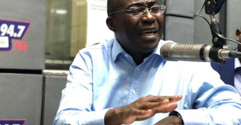 Michael Ansah was speaking on Asempa FM's Ekosii Sen programme, Thursday.