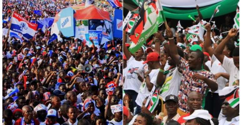 Neither NPP nor NDC would win one touch - Afrobarometer report reveals