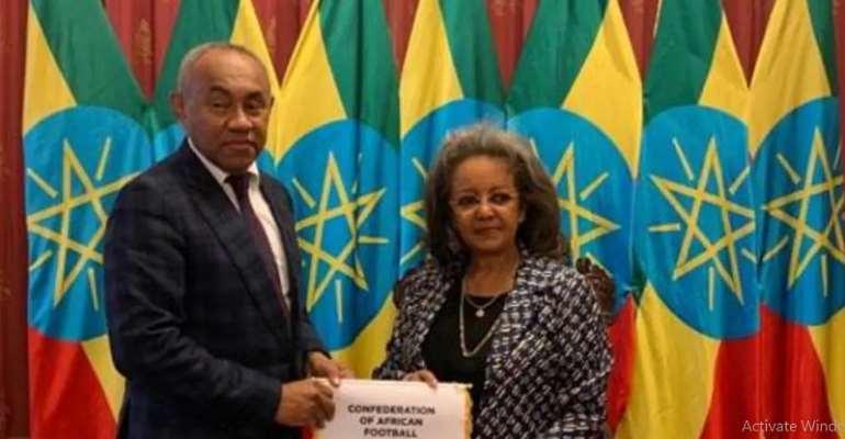 CAF President Ahmad Ahmad Visits Ethiopia