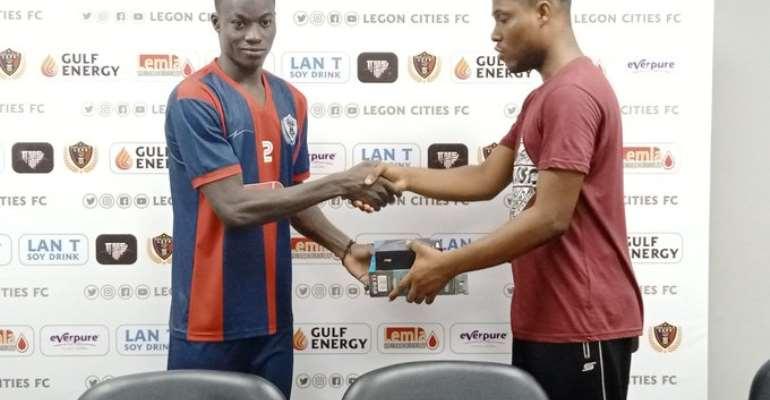 Legon Cities FC 1-0 Bechem United: Abdul Karim Picks Up Second Nasco MoTM Award