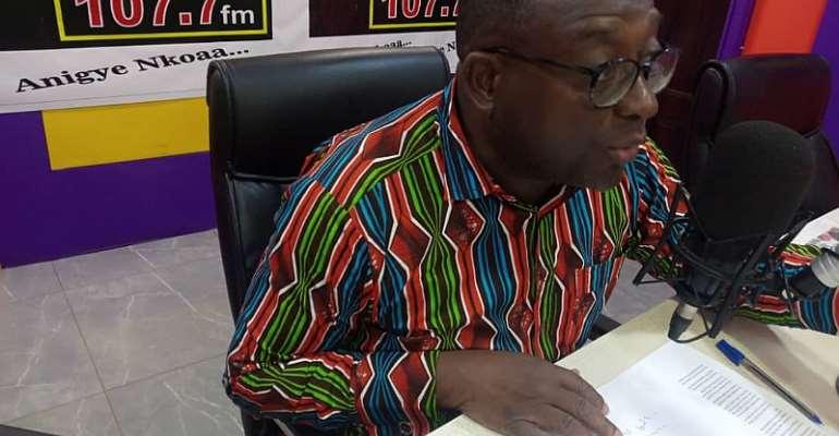 New Voter's Register: Adenta MP Buaben Asamoah Supports EC