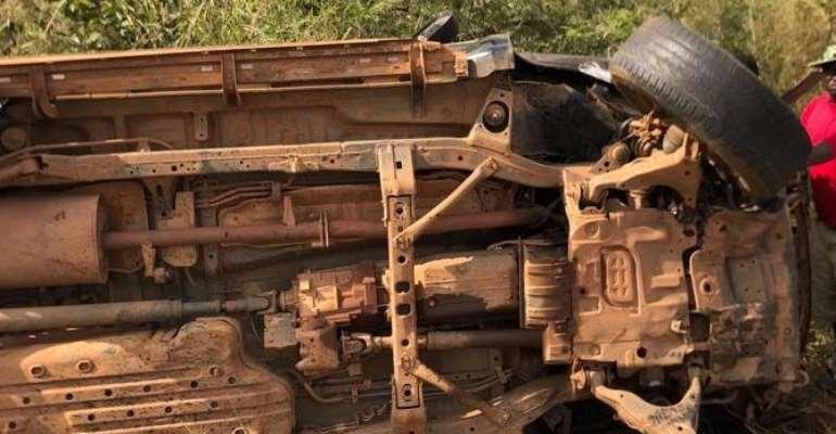 Four market women killed in car crash on Tamale-Bolga road