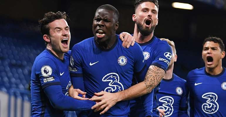 PL: Chelsea go top after coming from behind to beat Leeds
