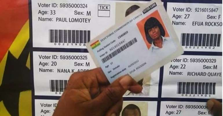The request for a new Voters' Register, now in a political storm, photo credit: Ghana media