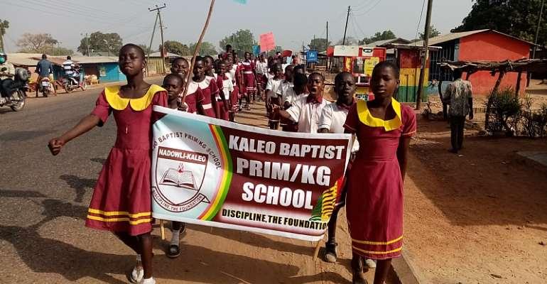 U/W: Kaleo Baptist Basic School Marks 10th Anniversary