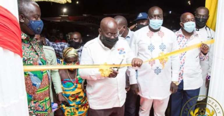 A/R: Akufo-Addo commissions 100-bed specialised Prof. Quarm Hospital