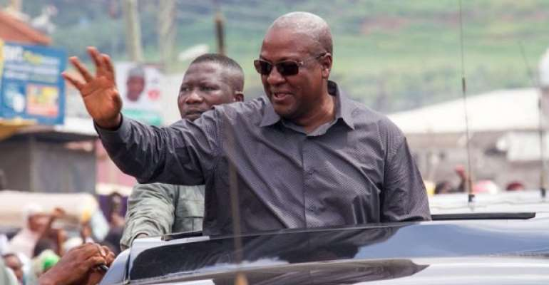 Mahama promises to regulate 'Goro Boys' at DVLA