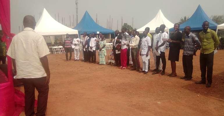 Hon. Kweku Nyarko Koomson, Nana Kow Ponsi ConfirmedPresiding Members