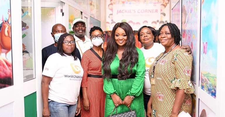 Jackie Appiah refurbishes Korle-Bu Child Health ward on her birthday