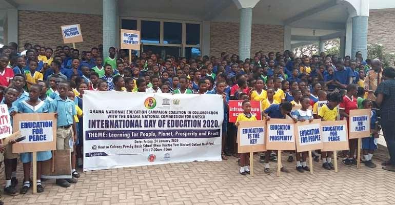 GNECC, UNESCO Mark International Day Of Education