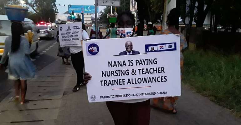 2020 Election: NPP Group hits streets of Accra to campaign for Akufo-Addo