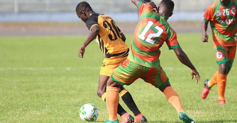 20/21 CAF Confederations Cup: End of the road for Ashgold as Miners lose 2-1 to Salitas FC