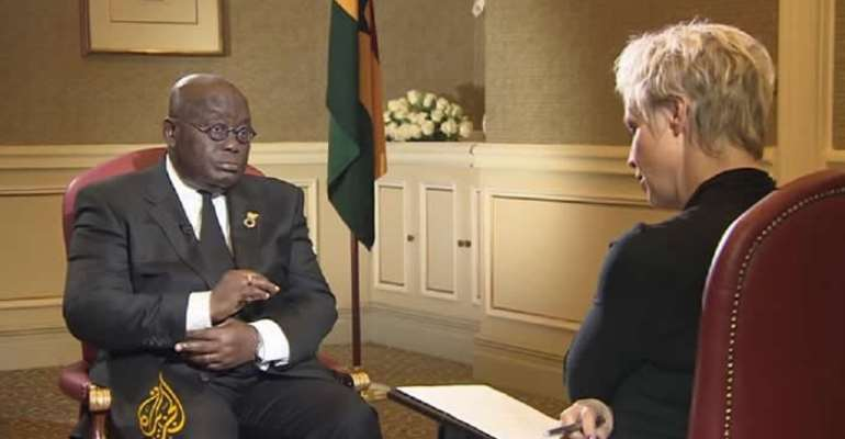 President Nana Addo's Interview On Aljazeera And The Question  Of Homosexuality!