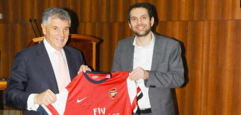 Former English Vice-chairman David Dein Laud CAF's Positive Stand On Technology