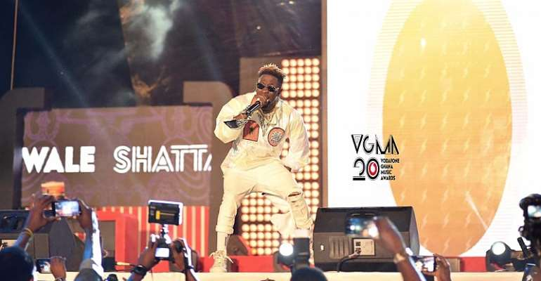 I Came For Business, Money And Not Awards - Shatta Wale