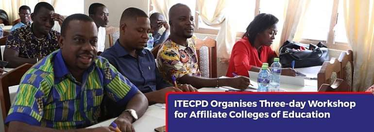 ITECPD Holds Workshop On Test Item Construction For Affiliate Colleges Of Education