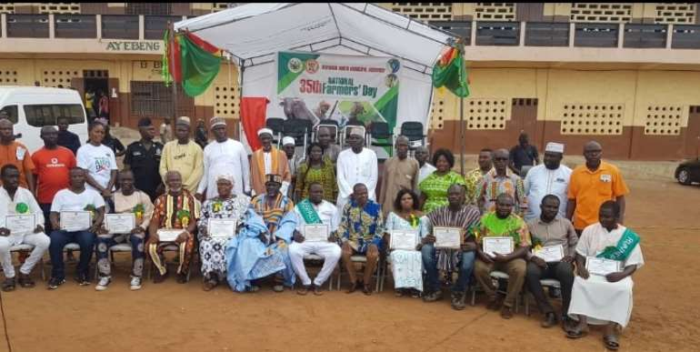 Ayawaso North Municipal Assembly Marks Maiden Farmers Day Celebration