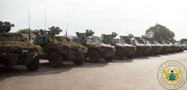 Armed Forces Gets 51 More Vehicles, 33 Armoured Personnel Carriers