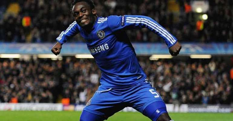 Michael Essien Names His Strike Against Arsenal As His Best Goal For Chelsea