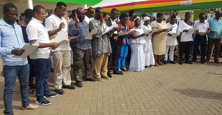 Korle Klottey Municipal Assembly Inaugurates Assembly Members