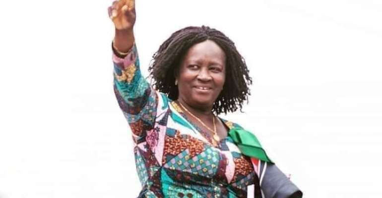 Prof. Naana's message to Ghanaians as she ends campaign tour