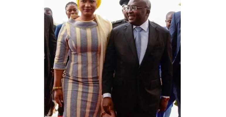 Bawumia, Samira pay last respect to Rawlings