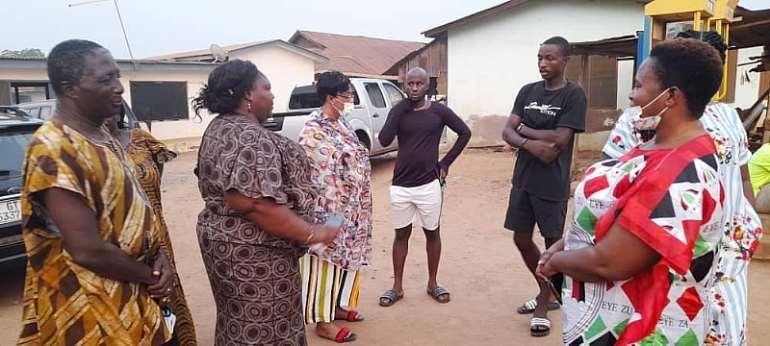 Shai-Osudoku MP commiserates with Family of 19-year-old lady murdered at Doryumu