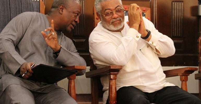 There'll be attempts to denigrate Rawlings in history – Mahama