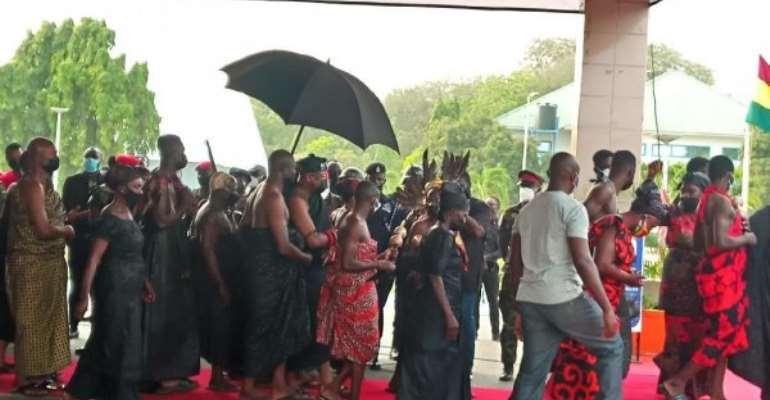 Otumfuo mourns Rawlings