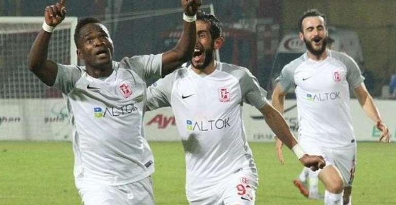 Mahatma Otoo Scores Tenth Goal ForBalikesirspor In Win Over Erzurum