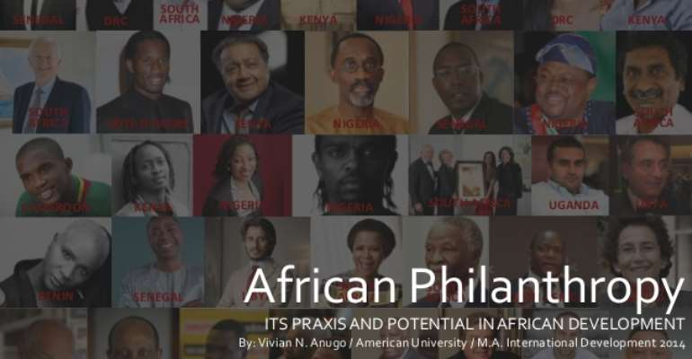 African Philanthropy In Africa Equals More Prosperity