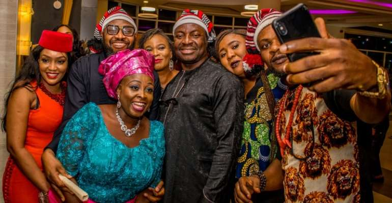 Photos: How Celebrities Iyabo Ojo, Yaw, Lolo 1, Korede Bello, Others Decked Out in Style for the Premiere of 'SMASH'