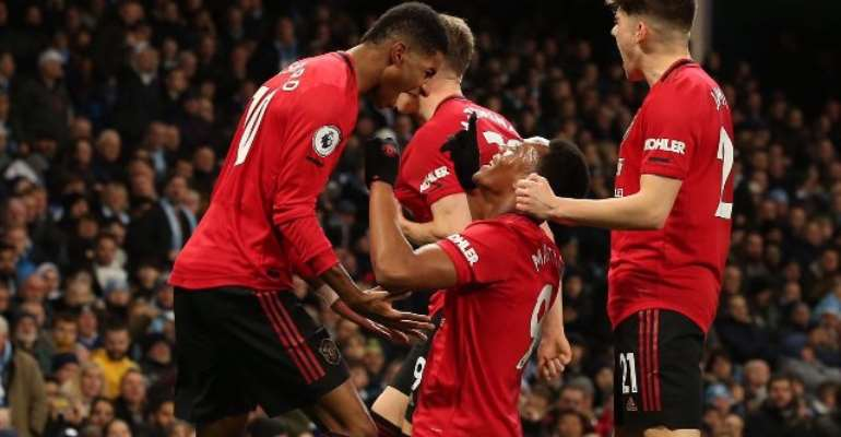 PL: United Win Manchester Derby To Dent City's Title Hopes