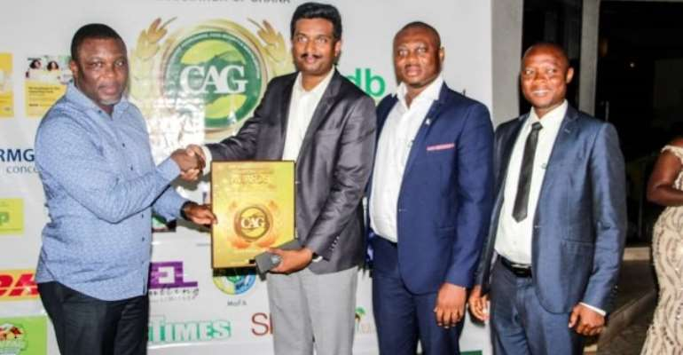 Olam Cashew namedtop agribusiness for sustainability