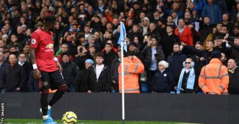 Manchester City 1-2 Manchester United: Allegations Of Racist Abuse As Objects Thrown At Fred