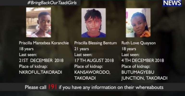USA, UK Joins Search for Missing Takoradi Girls