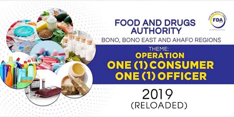 "FDA embarks on ""One Consumer, One Officer"" campaign"