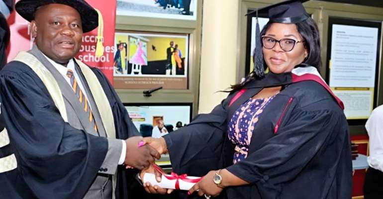 Accra Business School graduates 147 students, urges them to become leaders of change