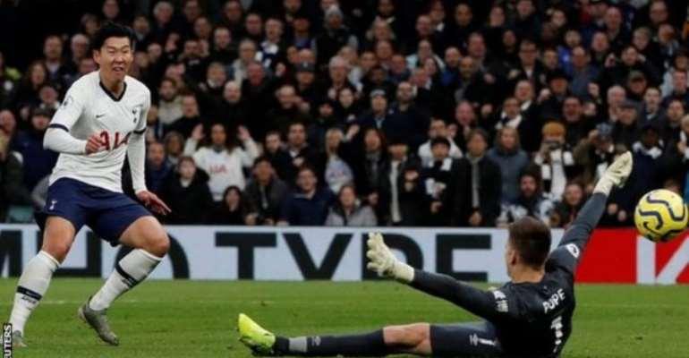 PL: Son Scores Stunner As Tottenham Thrash Burnley