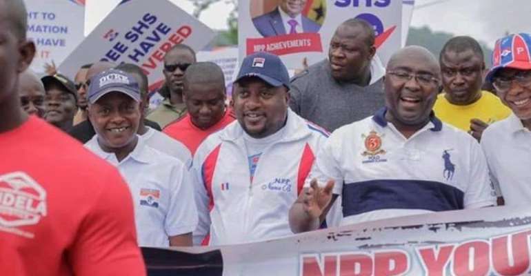 Bawumia Leads NPP Youth  Walk In Tamale