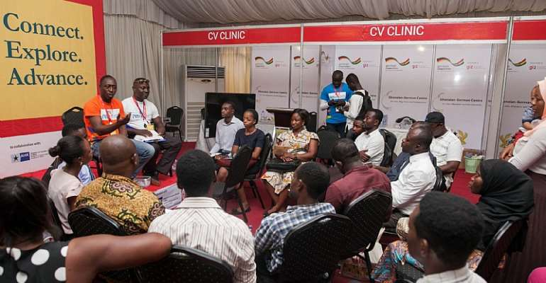 A/R: Ghana Job fair trains Job-seekers to leverage on opportunities