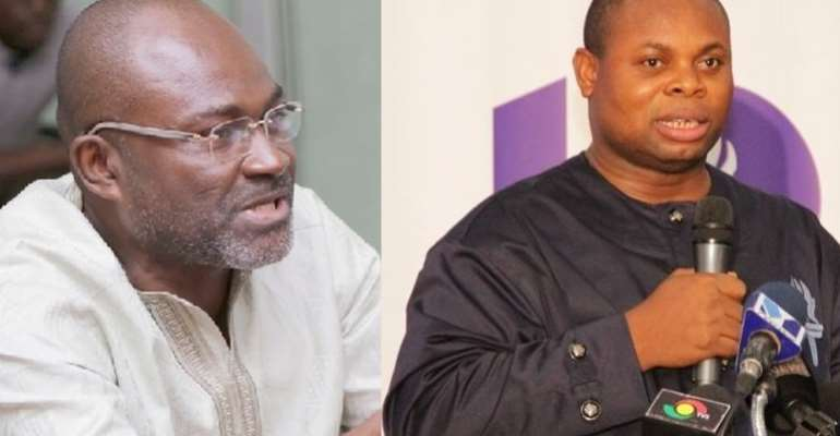 Kennedy Agyapong and Franklin Cudjoe