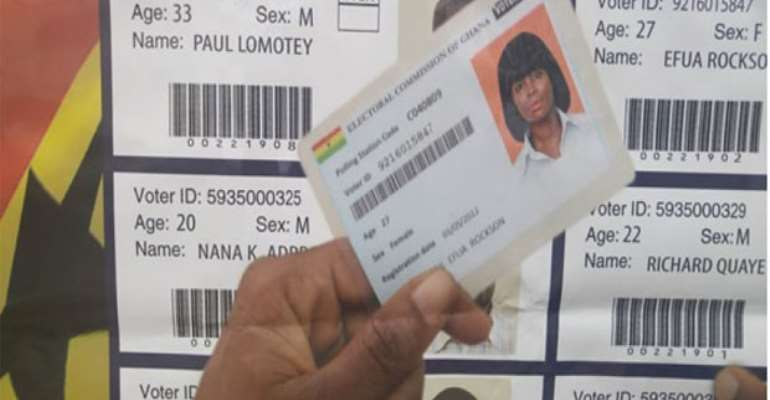 The New Voters' Register Wahala!