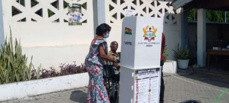 Election 2020: 86-year-old wheelchair-bound ex-VC of UG votes despite poor health