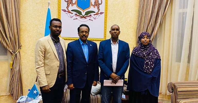 FESOJ and Media Fraternities Have Appealed Somali President Not to Sign the Draconian Media Law After Meeting.
