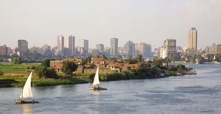The Nile river in Cairo  - Source: Grant Faint/Getty Images