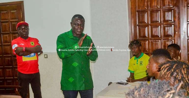 Dr. Kwame Kyei Increases Winning Bonus For Kotoko Players After Hearts Win